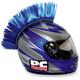 Blue Helmet Mohawk - PCHMBLUE