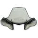 ProTek Rapid Release Mount ATV Windshield w/ Headlight Cut-Out - 24572