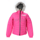 Womens Fuchsia Puff Jacket