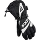 Womens Black/White Fusion Gloves