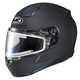 Matte Black CL-17SN Helmet w/Frameless Electric Shield
