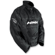 Black Throttle Pullover Jacket