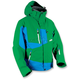 Green/Blue Peak 2 Jacket
