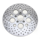 Front 11.5 in. Stainless Steel Drilled Brake Rotor - 1710-1901
