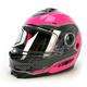 Fuchsia/Black Fuel Modular Helmet
