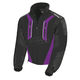 Womens Black/Purple Storm Jacket