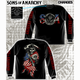 Reaper and Flag Long Sleeve T-Shirt