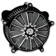 Contrast Cut Domino Venturi Air Cleaner - 0206-2030-BM