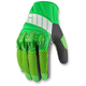 Green Overlord Mesh Gloves