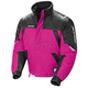 Womens Pink/Black/Silver Storm Snowmobile Jacket