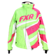 Womens Fuchsia/Lime Cold Cross Jacket