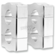1 in. T-Style Stem Pivoting Risers - 1R-BR1SS