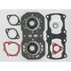 2 Cylinder Complete Engine Gasket Set - 711109C
