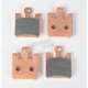 Double-H Sintered Metal Brake Pads - FA369/4HH