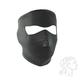 Black Neoprene Full Mask w/Microfleece Lining - WNFL114