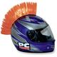 Orange Helmet Mohawk - PCHMORANGE