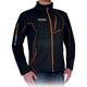Black Elevation Full Zip Long Sleeve Shirt
