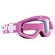 Targa 3 MX Bubble Gum Moto Goggle w/Clear Lens - 320809353097