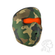 Woodland Camo/High-Vis Orange Reversible Neoprene Full Mask - WNFM118HV