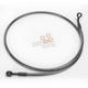 Black Pearl Designer Series 180 Degree Top Angle Custom Single-Disc Front Brake Line - 46744SW