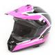 Youth Pink/Black Assault Helmet
