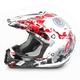 Red Stunt FX-17 Helmet