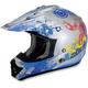 Blue Stunt FX-17 Helmet