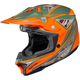 Orange/Green MC-6F CL-X7 Dynasty Helmet