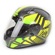 Hi-Vis Yellow/Charcoal/Black MC-3H CL-17 Redline Helmet