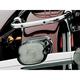 Smoke Laydown Taillight Lens w/License Plate Window - 4789