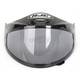 HJ-09 Anti-Fog Double Lens Smoke Framed Shield for HJC and Joe Rocket Helmets - 152-368