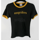 Womens Black Gold Digger T-Shirt