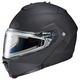 Matte Black IS-Max 2 Snowmobile Helmet w/Electric Shield
