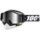 Black Racecraft Snow Abyss Black Goggle w/Dual Mirror Silver Lens - 50113-001-02