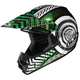 Youth Green/Black/White Wanted CL-XY Helmet
