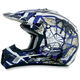 Youth Blue FX-17Y Trap Helmet