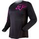 Womens Black/Pink Blackout Jersey
