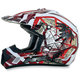 Youth Red FX-17Y Trap Helmet