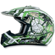 Youth Green FX-17Y Trap Helmet