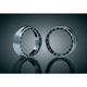 Chrome L.E.D. Halo Passing Lamp Trim Rings - 7748