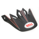 Black/Matte Black Visor for Moto-9 Emblem Helmet - 2036783