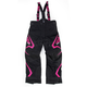 Youth Black/Fuchsia Helix Pants