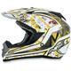 Yellow FX-19 Vibe Helmet