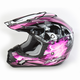 Black/Fuchsia Multi FX-17 Inferno Helmet