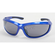 Blue Safety C-115 Sunglasses w/Smoke Lens - C-115BLU/SM