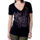 Womens Black Suave T-Shirt