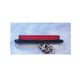 Red LED Light Bar with Black Base-6 in. - 02010