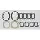 2 Cylinder Full Top Engine Gasket Set - 710023A