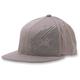 Charcoal Neal 210 Flat Brim Hat