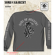 Charcoal Fear The Reaper Long Sleeve Tee